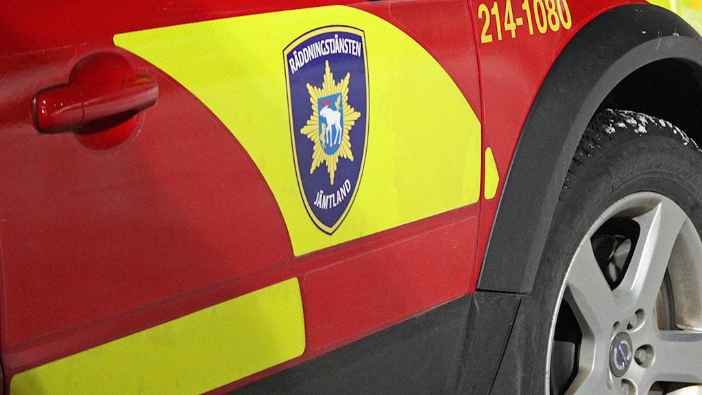 Bil Räddningstjänsten Jämtland