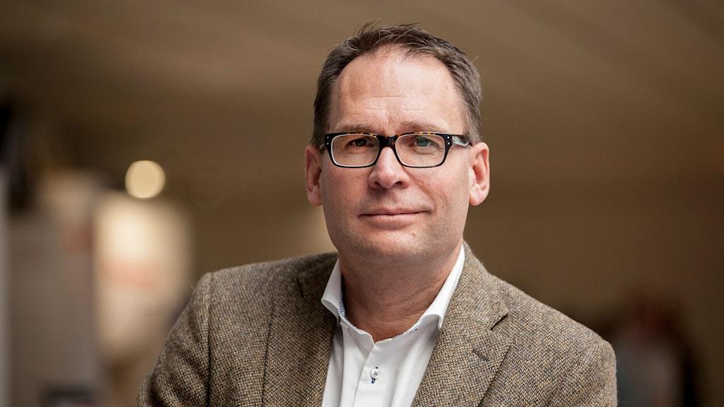 Mikael Ek, vd för Svenska Stadsnätsföreningen.