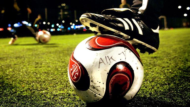 AIK-fotboll på fotbollsplan