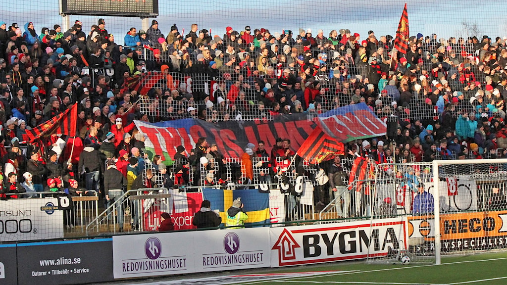 ÖFK - AIK ÖFK-supportrar