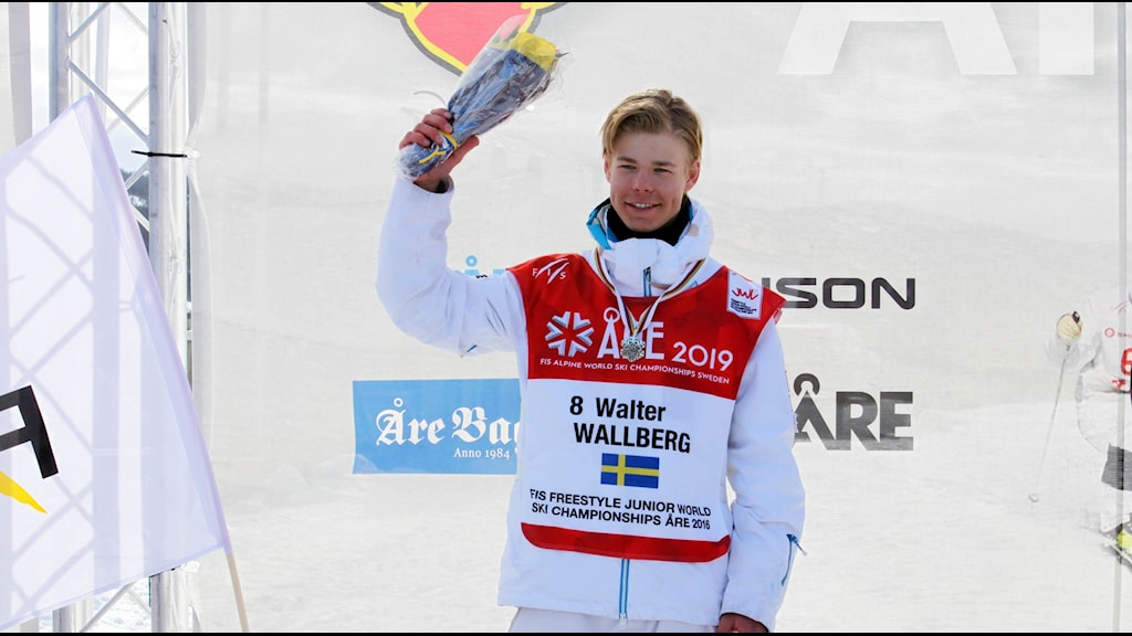 Walter Wallberg på prispallen