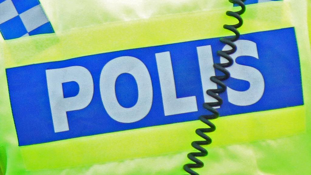 Ryggtavla polis