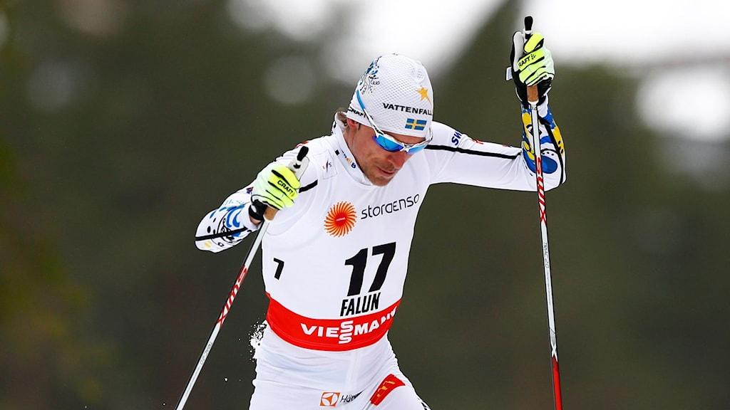 Skidåkaren Johan Olsson