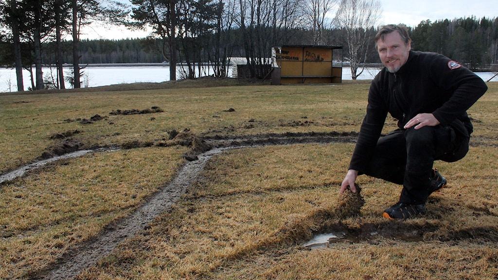 Mikael Olofsson ansvarar för idrottsanläggningarna  i Krokom