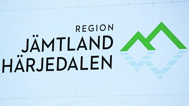 Skylt Region Jämtland Härjedalen