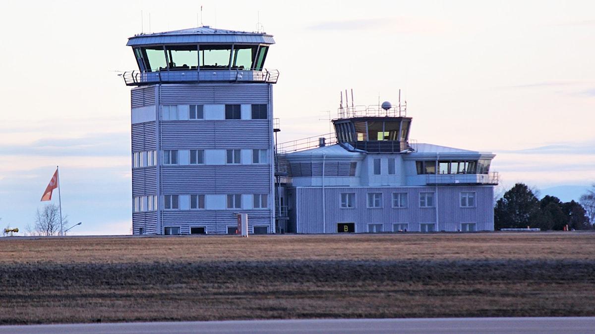 Flygledartornet flygplatsen Frösön - Åre Östersund Airport