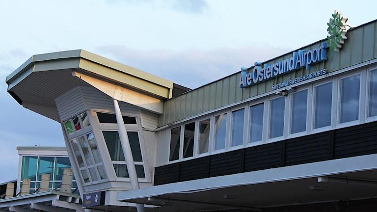 Åre Östersund Airport flygterminal