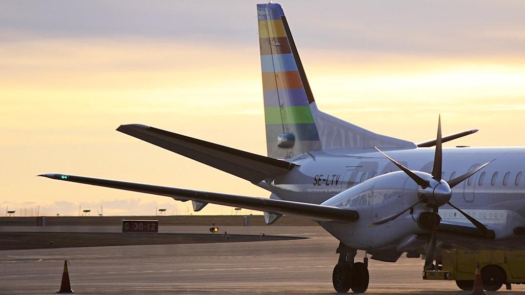 Åre Östersund Airport - propellerplan