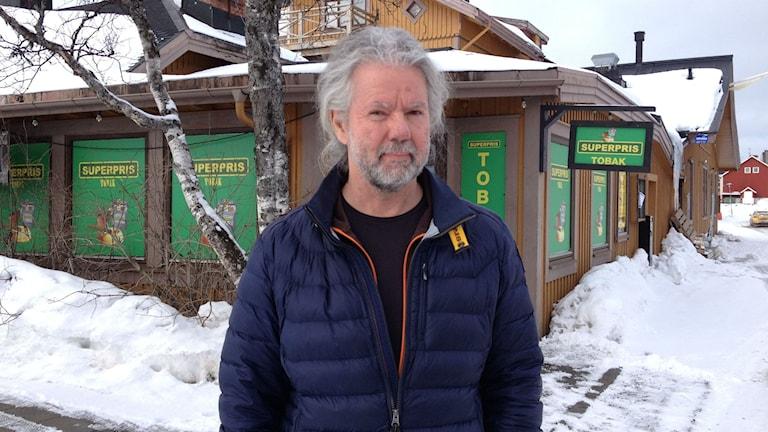 Ronny Juhlin, företagare i Storlien.