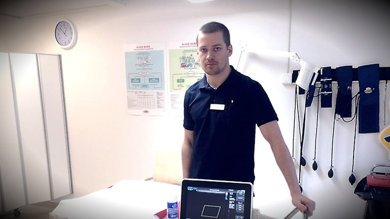 Marcus Runsvik Nordstrand, underläkare vid Funäsdalens hälsocentral.