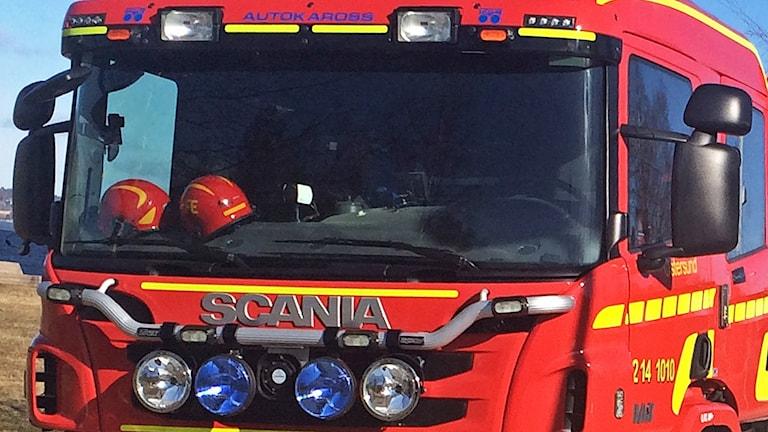 Räddningstjänsten Jämtland brandbilshytt