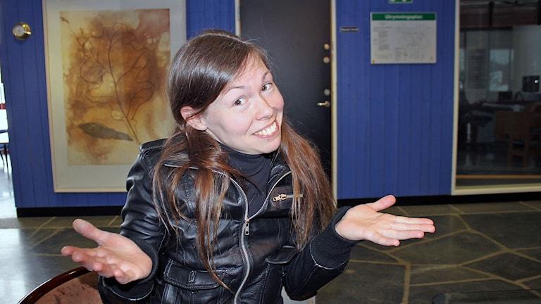 Linda Svedberg lyckades hitta registreringsskyltar efter 17 års letande.