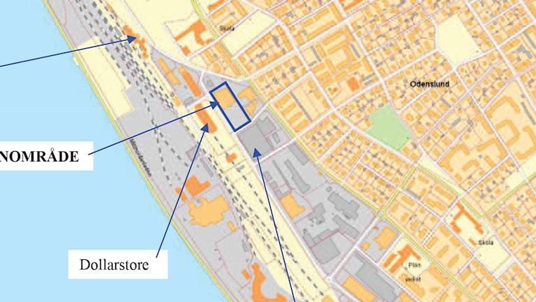 Förslag till ny detaljplan för kvarteret Kräftan i Östersund