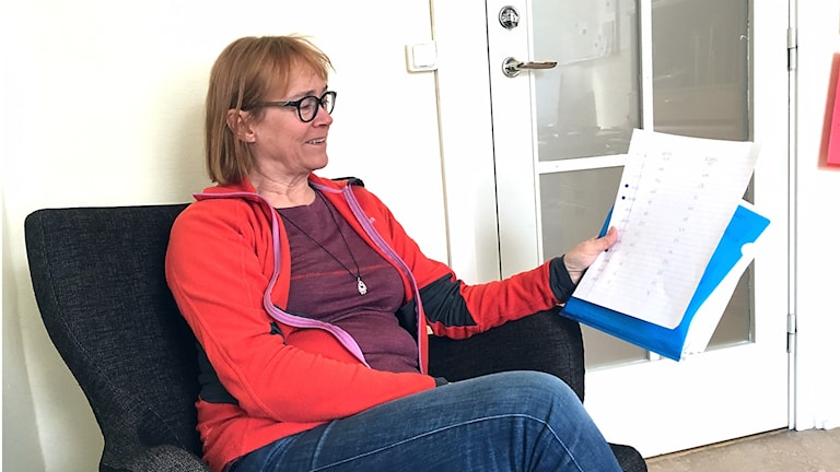 Susanne Högberg som är verksamhetschef för ungdomsmottagningen i länet