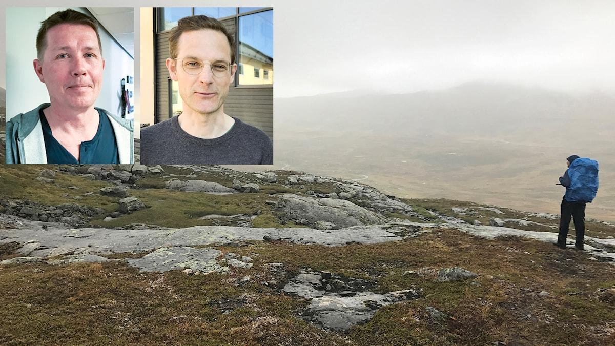 Erik Hellberg Meschaks, handläggare på Naturvårdsverket i Östersund Jon Paulsson chefsjurist länsstyrelsen Jämtland