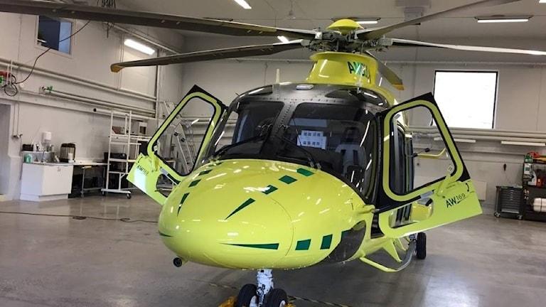 Den italienska ambulanshelikoptern, AW169