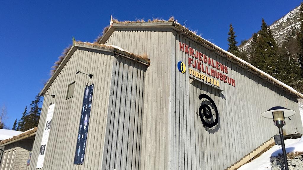 Härjedalens fjällmusem, fjällmuseet i Funäsdalen.