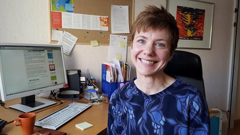 Sofia Kling, utvecklingsstrateg på Region Jämtland Härjedalen
