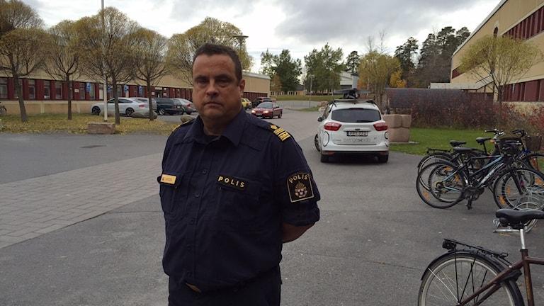 Peter Moberg, polisområdeschef i Östersund.