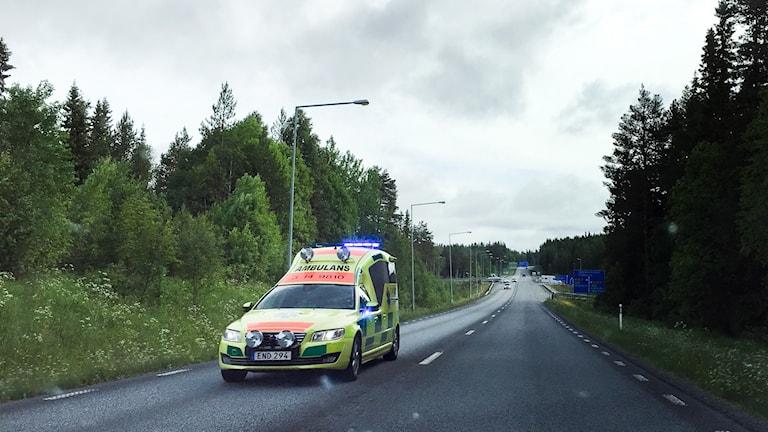 Ambulans på väg Region Jämtland Härjedalen