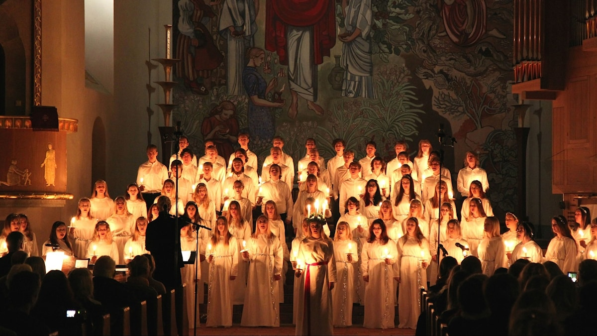Luciakonsert Stora kyrkan i Östersund