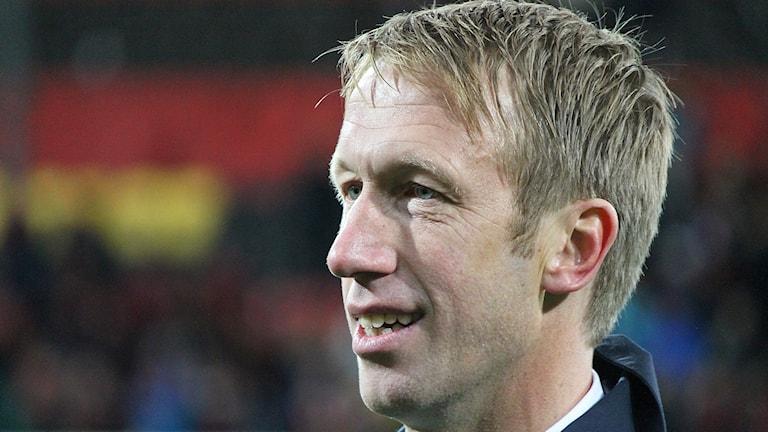 Porträttbild av Graham Potter tränare Östersunds Fotbollsklubb