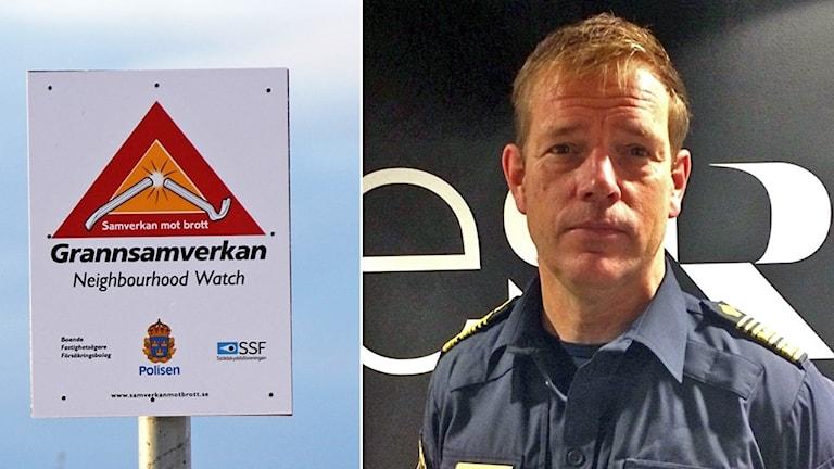 Mikael Säll Lindahl, biträdande chef för polisen region nord.