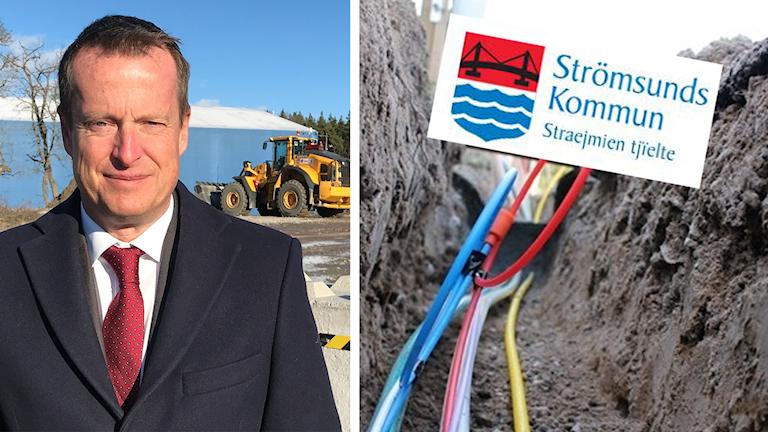Anders Ygeman bredband Strömsunds kommun Rossön