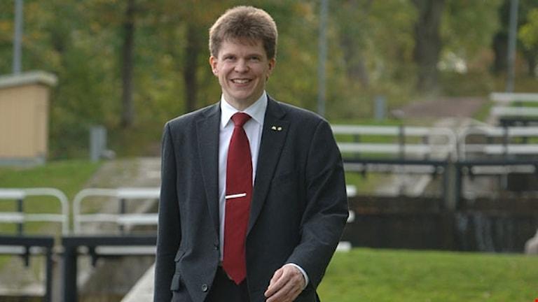 Andreas Norlén, (M) ordförande i riksdagens konstitutionsutskott.