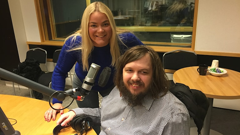 Henrik Ahlström och Amelia Mauritzon