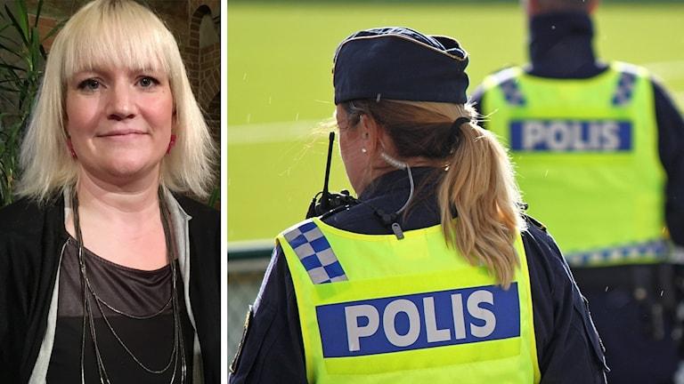 Kristina Molin utredare gränspolisen Östersund Polis