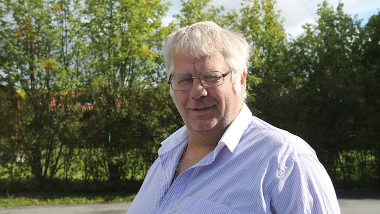 Per Bergvall, ordförande för Ragunda hembygdsförening