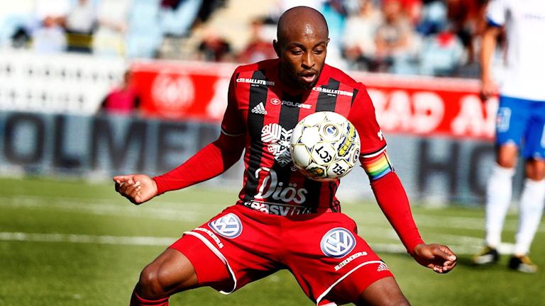 Östersunds lagkapten Fouad Bachirou