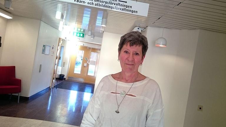 Eva Lundqvist, kvalitetsansvarig på hemtjänsten i Östersund.