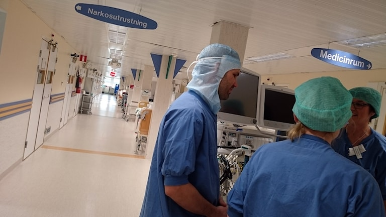 Operationspersonal Östersunds sjukhus GENREBILD