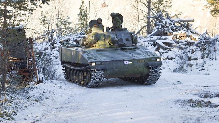 Bandvagn pansarvagn stridsfordon