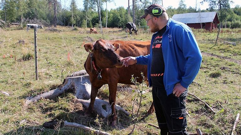Anders Halén, lagårdsförman på Svedja gård