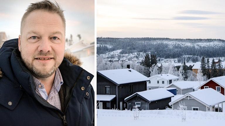 Hus fem miljoners hus stadsdel norr Östersund Mäklare