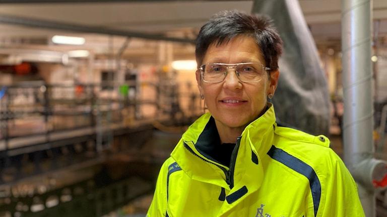 Helen Löfgren-Larsson, VA- och renhållningschef Strömsunds kommun