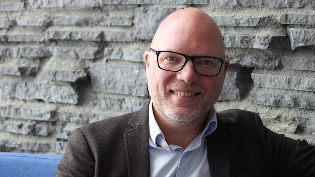 En av moderaternas toppkandidater i EU-valet, Jörgen Warborn.
