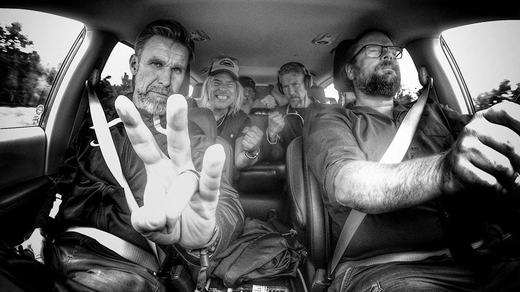 Jämtländska folkrockbandet Hoven Droven har varit på USA-turné.