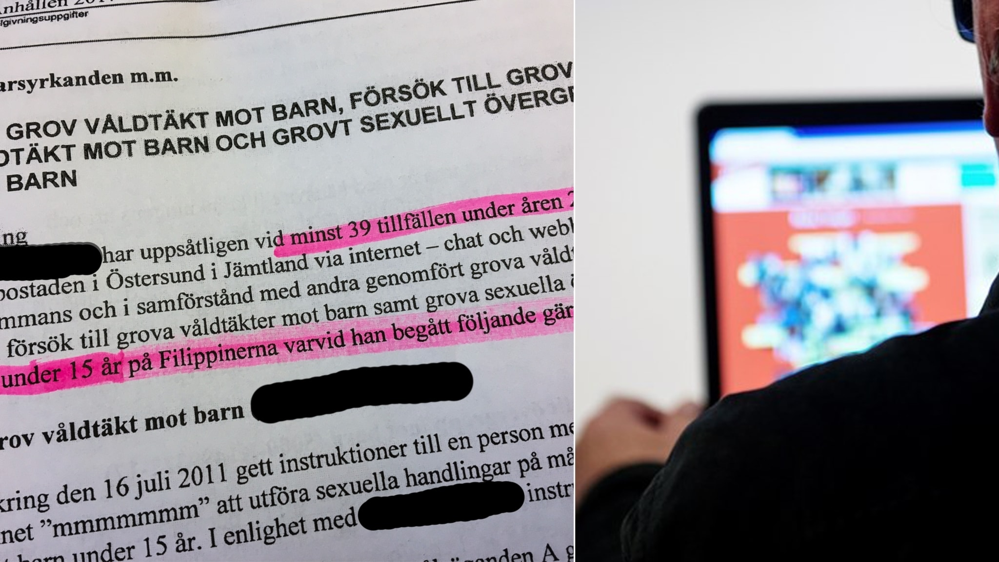 14 ars fangelse for barnvaldtakt via internet