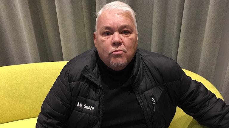 Livsmedelsföretagaren Christer Karlsson. Foto: Märta Gustafsson/Sveriges Radio