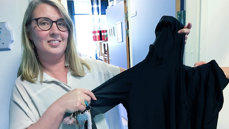 Victoria Tjernlund rektor centralskolan i Hoting Strömsunds kommun