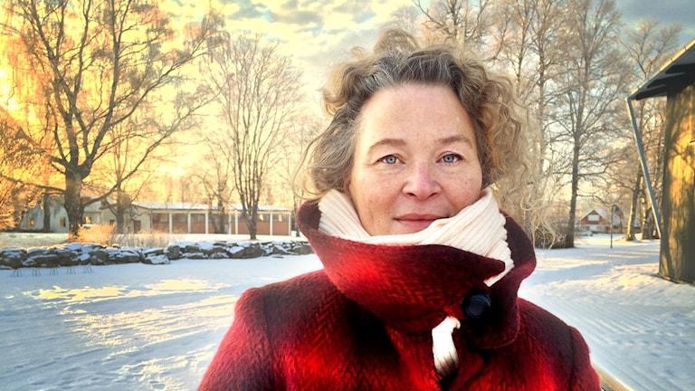 Stina Wirsén, barnboksförfattare och konstnär.
