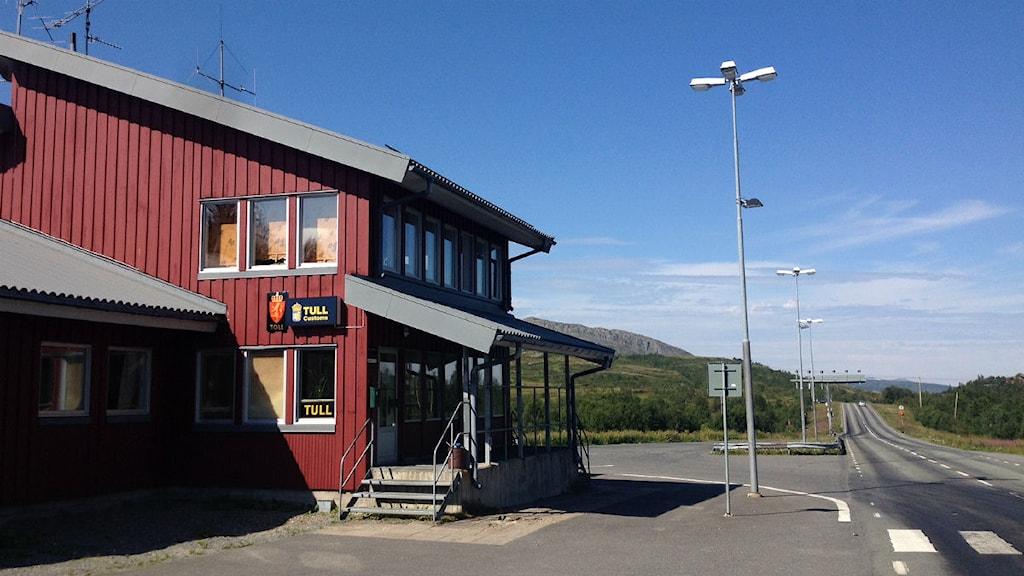 Gränsstationen på svenska sidan, Storlien, polis, tull