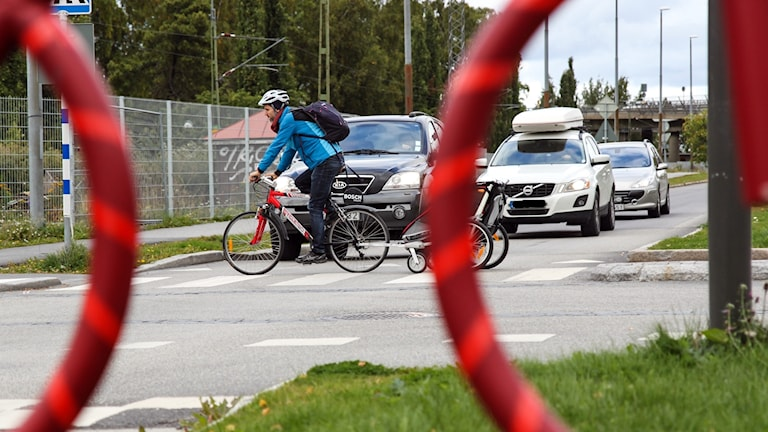 Cykelöverfart Badhusparken Östersund