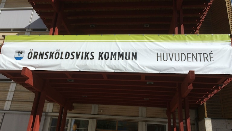 Örnsköldsviks kommun Foto: Anton Kårén/Sveriges radio