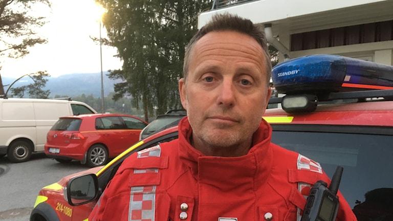 Leif Ekström, yttre befäl räddningstjänsten Jämtland