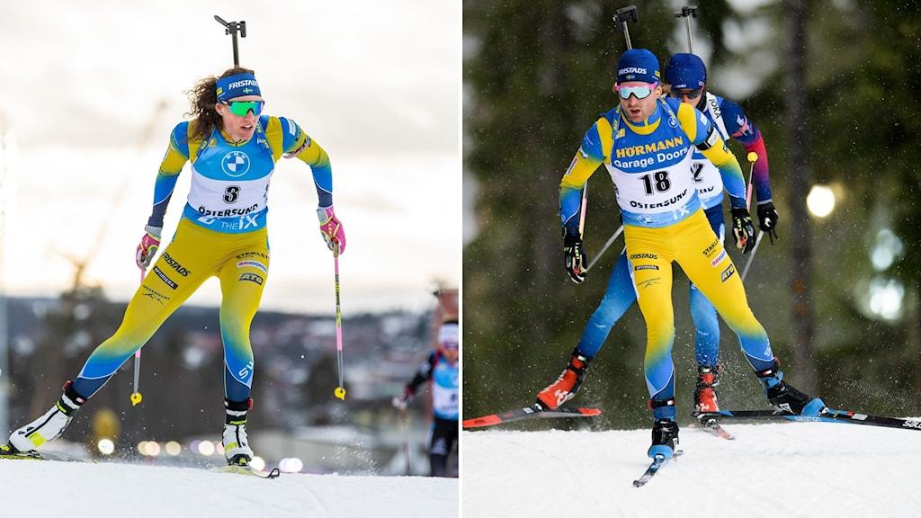 Hanna Öberg och Jesper Nelin.